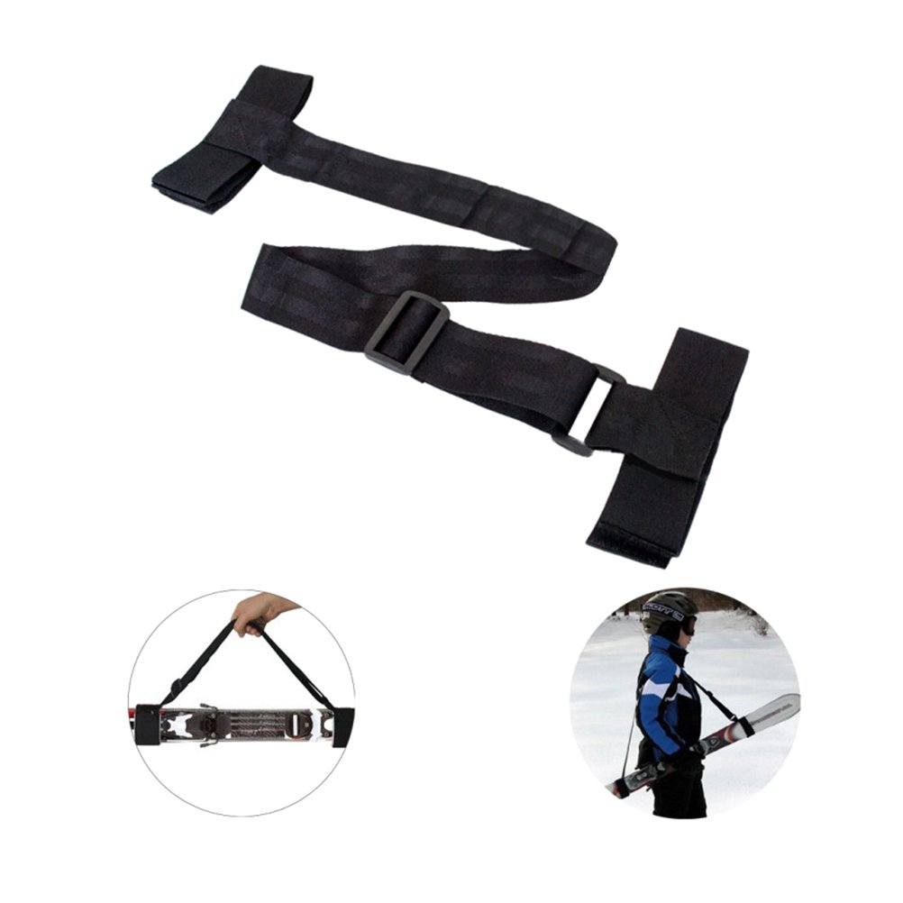 WINOMO Ski Carrier Strap Adjustable Pole Snowboard Shoulder Carrier Straps Holder