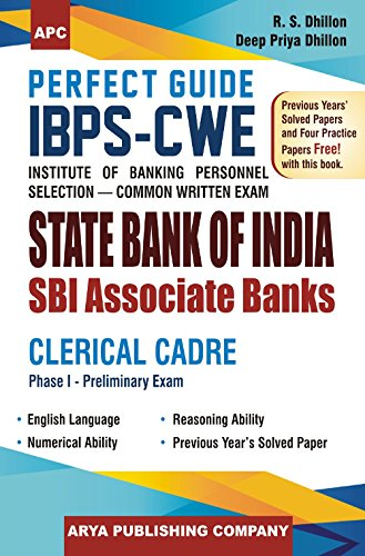 Download Perfect Guide IBPS - CWE (Institute of Banking Personnel Selection - Common Written Exam) State Bank of India SBI Associate Banks Clerical Cadre ebook
