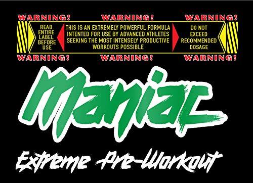 Resultado de imagen para maniac pre workout