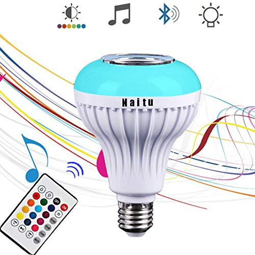 Led Light Bulb Bluetooth Speaker in US - 6