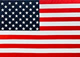 United States Flag + Original Contemporary Wall Art + American Flag Painting + Large Canvas Art Landscape + Independence Paintings + Big Art