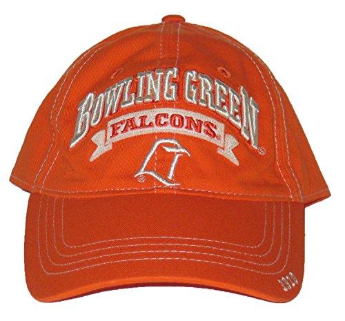 キャリアアルネフリースBowling Green Falcons NCAAオレンジ調節可能な帽子