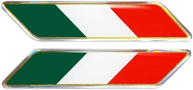 4r Quattroerre It 482 3d Aufkleber Italien Schräge Flagge Auto