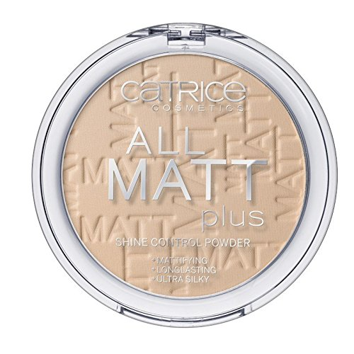 - Catrice - Puder - All Matt Plus Shine Control Powder - Sand Beige 025