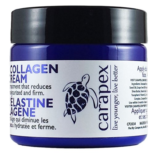Collagen body cream for loose skin