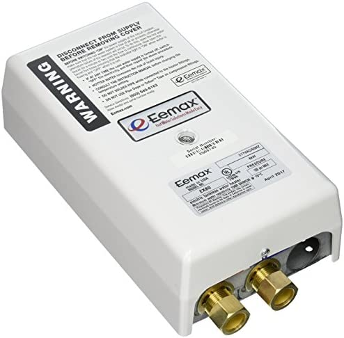 Eemax EX80 Electric tankless water heater, 3 x 5 x 12 inches