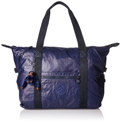 Bleu Art Camo Lacquer Multicolore M Multi Kipling Sac Water voyage de Indigo couleur a1SwqARx