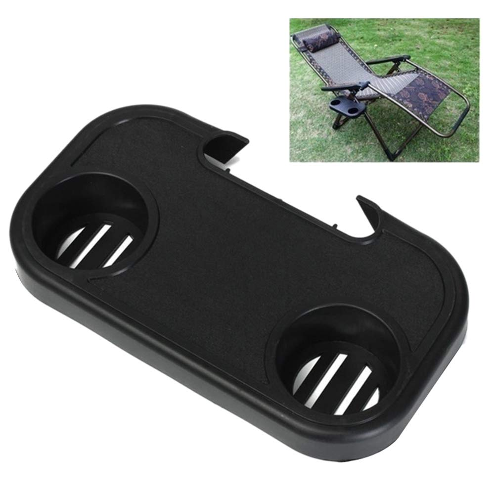 Scelet Clip On Camping Chair Side Table Outdoor Garden Fishing Beach Storage Tidy
