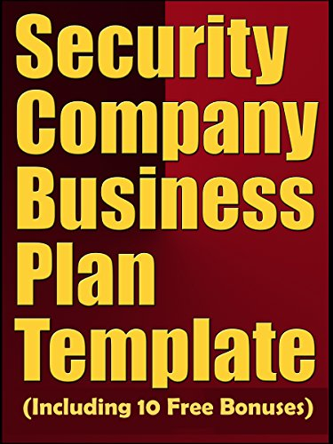 Amazon security company business plan template including 10 security company business plan template including 10 free bonuses by business plan expert wajeb Images