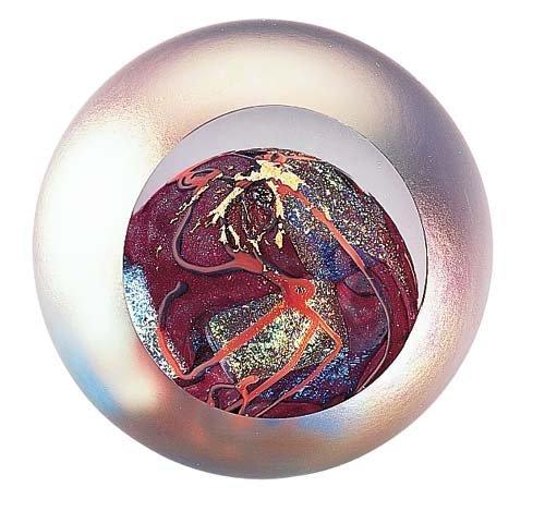 Glass Eye Studio Mars Mundgeblasenes Glas Briefbeschwerer B003BWRSTU | | | Meistverkaufte weltweit  c8e071