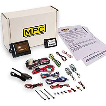 complete remote start with keyless entry kit for 2004-2006 ford ranger -  includes bypass