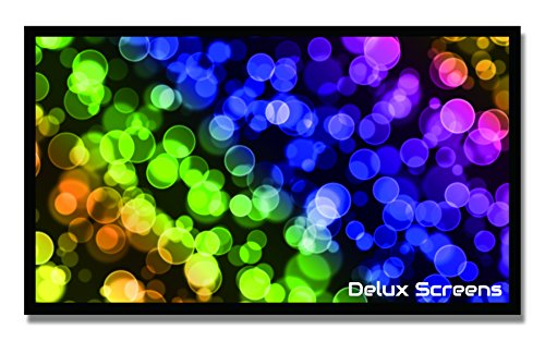 DELUX SCREENS 120 inch 4K/8K Ultra HDR Projector Screen - Ac