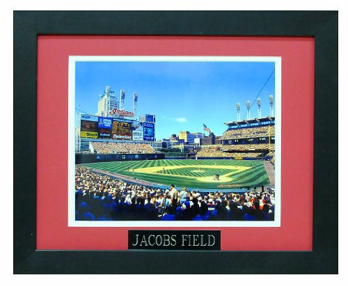 Jacobs Field Now Known As Progressive Field, Home of the Cleveland Indains. Professionally Matted an Framed 8x10 Photo to an - Jacobs Field Framed