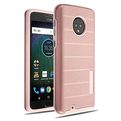 Amazon.com: Phonelicious - Carcasa rígida para Motorola G6 ...