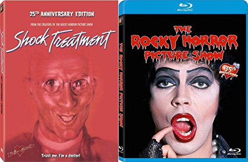 ROCKY HORROR PICTURE SHOW-35TH ANNIVERSARY (BLU-RAY) Shock Treatment (25th Anniversary Edition) DVD Set