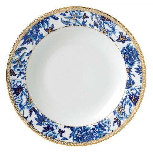 Wedgwood Hibiscus Rim Soup Plate 9