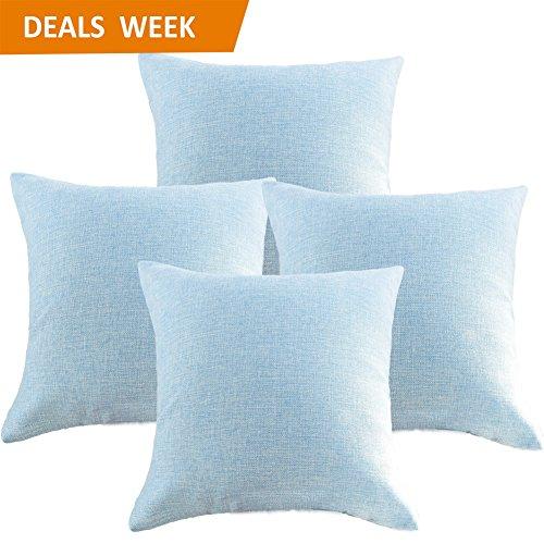 Light Blue Outdoor Cushions - 1
