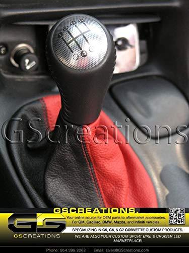 Corvette Carbon C5 - C6 Corvette Shift Knob Made To Fit The C5 Corvette (carbon fiber look top cap)