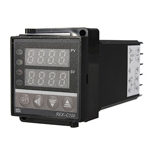 PID Temperature Controller - SODIAL(R)100-240V DIGITAL PID TEMPERATURE CONTROLLORE +MAX.40A SSR +K THERMOCOUPLE (Fs One Controller)