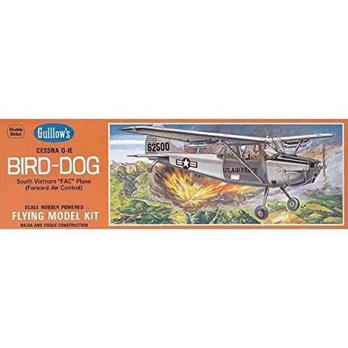 Dog Bird Cessna (Guillow's Cessna O-1E Bird Dog Model Kit)