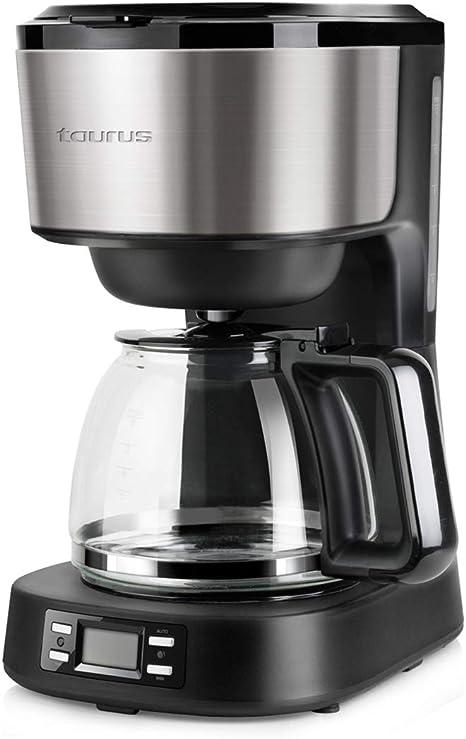 Taurus Verona Legend Cafetera de goteo programable, 14 Cups, Acero Inoxidable: Amazon.es: Hogar