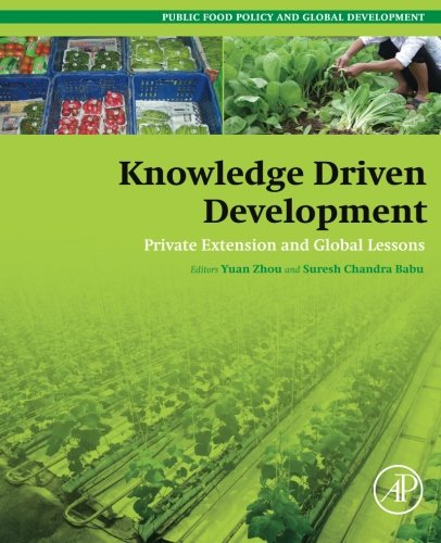 Price comparison product image Knowledge Driven Development: Private Extension and Global Lessons (Public Policy and Global Development)