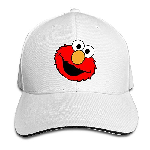 sunny-fish6hh-unisex-adjustable-sesame-street-big-bird-baseball-caps-hat-one-size-white
