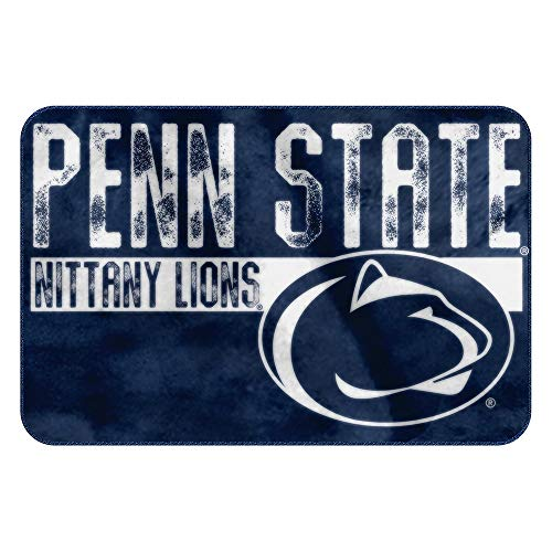 The Northwest Company NCAA Penn State Embossed Memory Foam Rug, One Size, (Penn State Nittany Lions Bathroom)