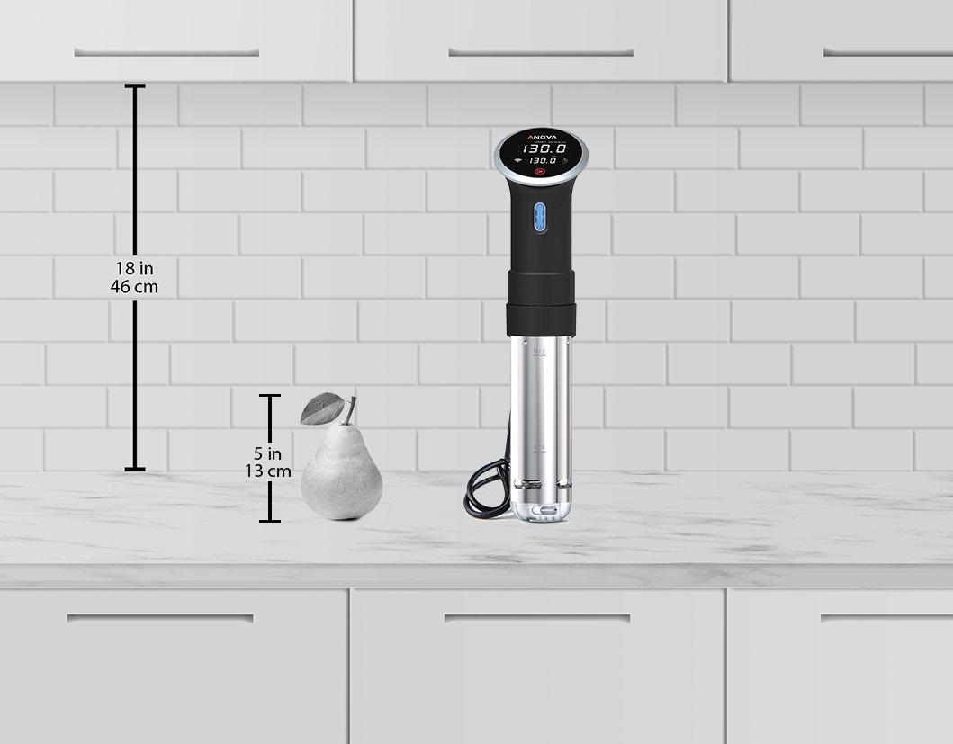 Anova Culinary Sous Vide Precision Cooker WIFI, Immersion Circulator (2nd Gen), 900 Watts, Black by Anova Culinary (Image #2)