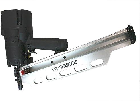 """Round Full Head Framing Nailer Nail Gun 2/"""" to 3-1//2/""""  21° 70-110 PSI AL83A2"""