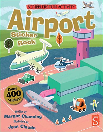 Price comparison product image Airport Sticker Book (Scribblers Fun Activity)