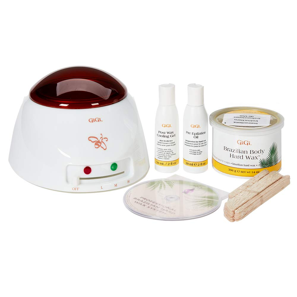 GiGi Brazilian Hair Removal Waxing Kit