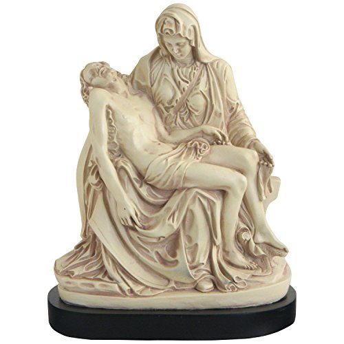 European Sculpture (The Pieta by Michelangelo, European Statue, 9 Inches)