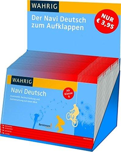 WAHRIG Navi Deutsch: Grammatik, Rechtschreibung, Zeichensetzung