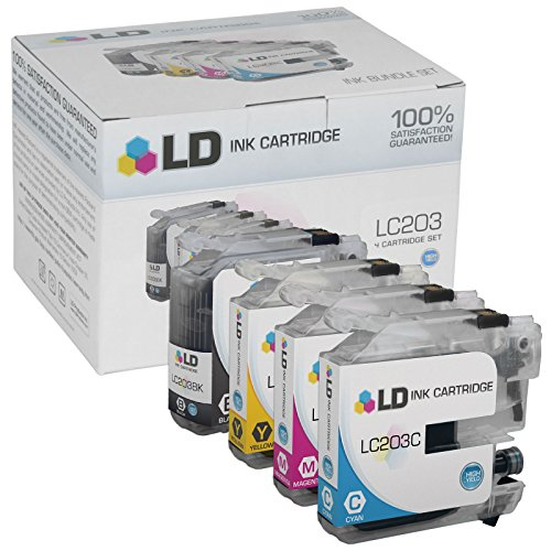 LD © Compatible Replacements for Brother LC203 4PK HY Ink