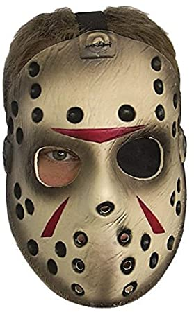 FRIDAY THE 13TH HOCKEY MASK JASON VORHEES (máscara/ careta)