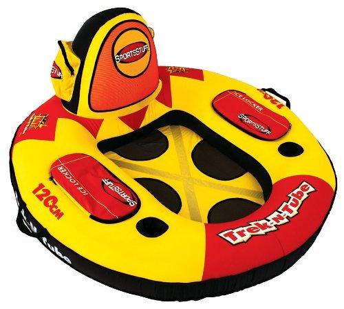 TREK N TUBE Lake Lounger with Travel Backpack (Tube Sportsstuff Sports)