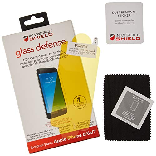 ZAGG InvisibleShield Glass Defense – Screen Protector for Apple iPhone 7, iPhone 6s, iPhone 6 by ZAGG (Image #4)