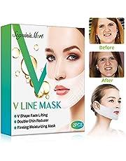 Doppio mento riduttore,V lifting maschera per il mento sollevabile,intense lifting a doppio strato Mask