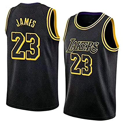 half off ccbf5 a87cd Amazon.com : Mitchell & Ness Men's Los Angeles Lakers Lebron ...