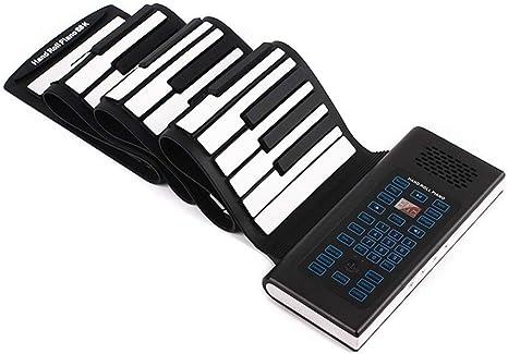 Wghz Piano Enrollable de Mano, Teclado de Piano Enrollable de ...