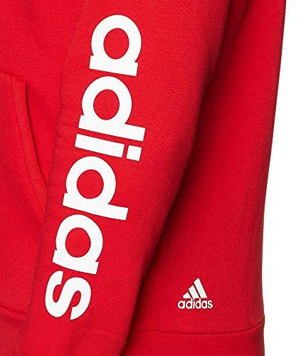 Ess Rouge escarl À Lin Sport De Sweat shirt Fzhoodb Capuche Adidas Homme Oqdvpp