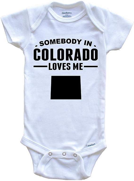 South Carolina Baby Bodysuit Somebody In South Carolina Loves Me Baby Onesie