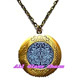 Crescent Beautiful Locket Neck