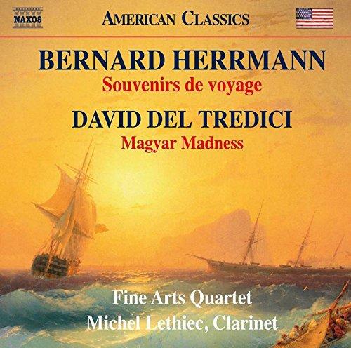Price comparison product image Bernard Herrmann: Souvenirs de voyage & David Del Tredici: Magyar Madness