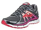 Brooks Women's Adrenaline GTS 17 Running Shoes Anthracite/Festival Fuschia 8.5