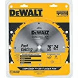 DEWALT DW3112 Series 20 10-Inch 24 Tooth ATB Thin Kerf Saw Blade with 5/8-Inch Arbor