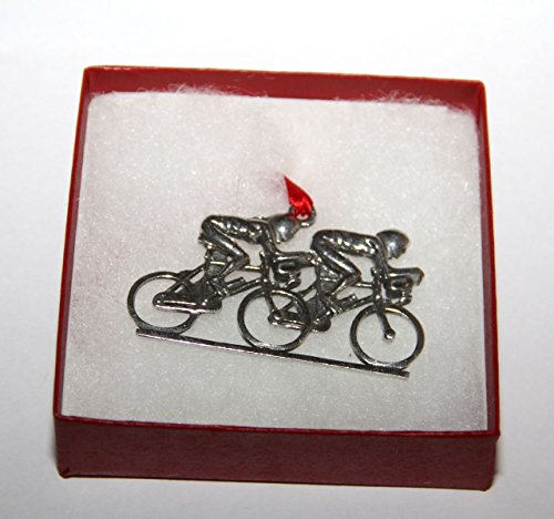 Bicycle Ornament Couple (Cycling Christmas Ornament compare prices)