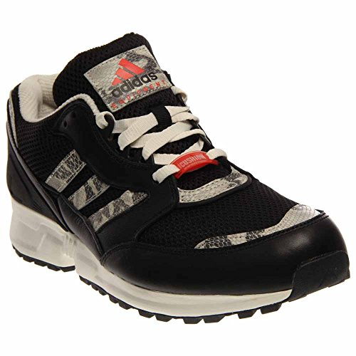 Cuscino Da Running Adidas Per Uomo (nero / Bianco / Bianco) Nero / Bianco / Rosso