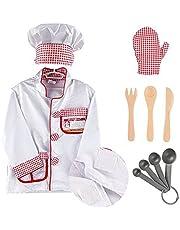 MaMiBabys - Disfraz de chef con función juguete educativo regalo para niños